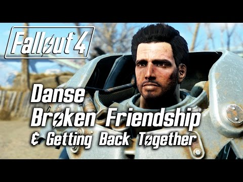 Fallout 4 - Paladin Danse - Broken Friendship & Getting Back Together *SPOILERS*