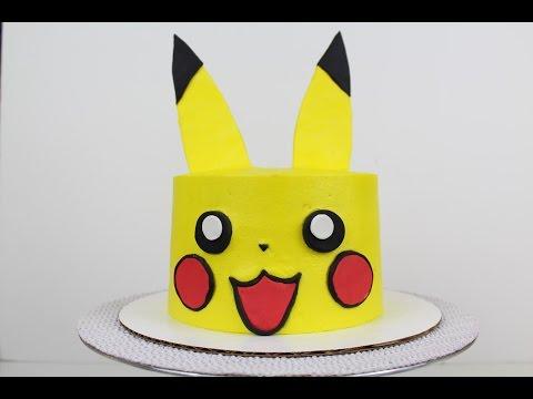 Pikachu Cake Tutorial I CHELSWEETS