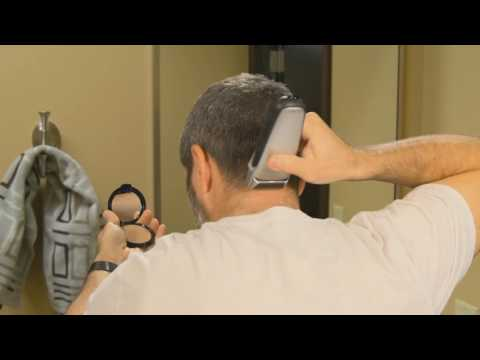 The Barber's Edge:  How to cut your own neckline without mirrors