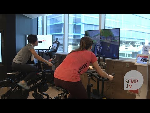Exercise bikes and Mario Kart: pedalling a new way to exercise