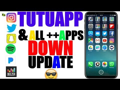 iOS 9-10.3.2/11: UPDATE ALL ++ APPS DOWN_Spotify ++, Snapchat ++, FaceBook ++, Pandora ++,Twitter ++