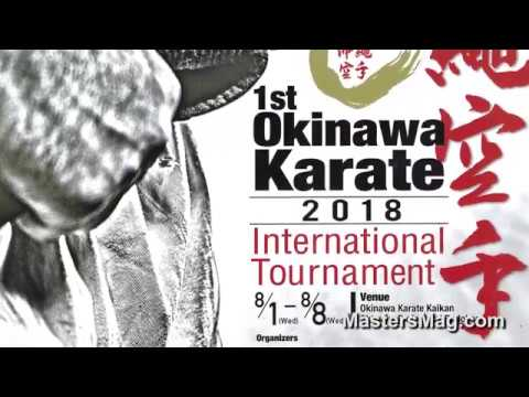OKINAWA KARATE MASTERS OVERSEAS (DEMO) EXCHANGE PROGRAM 2017