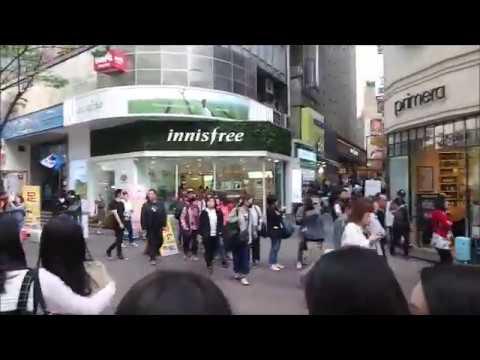Myeongdong Shopping Street   Cosmetics Shopping in Seoul