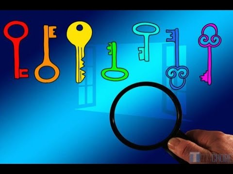 Find a lost product key in Windows!!!!