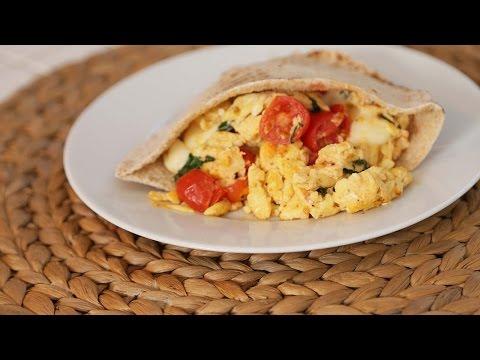 3 Delicious Breakfast Pitas