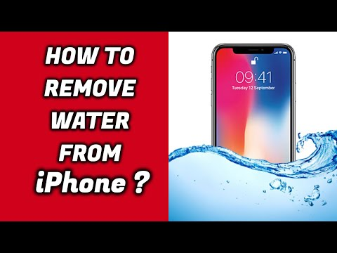How to Remove water out of IPhone X Speakers ! #2018 ( Will work with All iPhones)