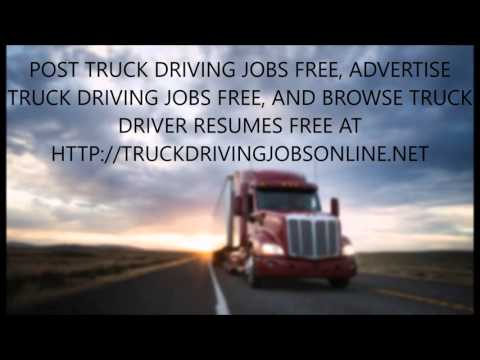 post truck driving jobs free -  Driver Resumes