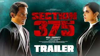 SECTION 375 OFFICIAL TRAILER || AKSHAY KHANNA
