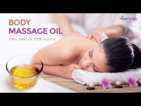 BODY MASSAGE OIL | PAIN RELIEF OIL 100 % NATURAL - DIY