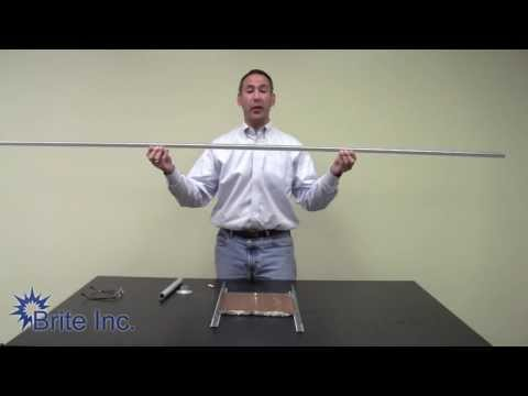 How To Install Suspension Rods for Hanging Track