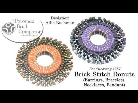 Brick Stitch Donuts (Tutorial)