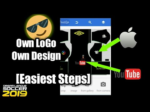 How to make your OWN kit in dream league soccer 2017(OWN logo and design)[Major Dominates]
