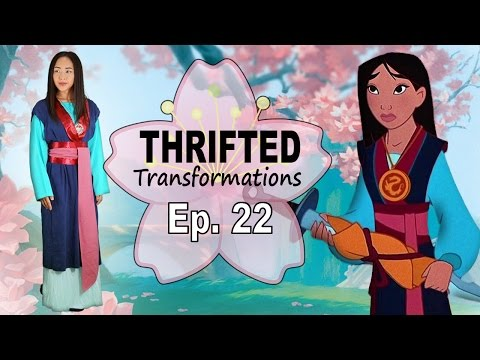Thrifted Transformations  | Ep. 22 DIY Mulan Costume