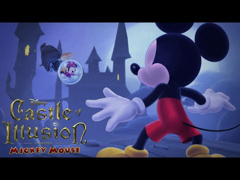 Castle of Illusion Starring Mickey Mouse Gameplay - Full Game Episodes - Disney Cartoon Game