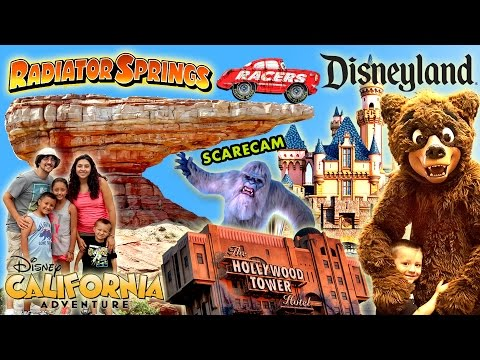 2015 Disneyland Family Trip w/ California Adventure too! Tons of Fun in Disney! (FUNnel Vision Vlog)