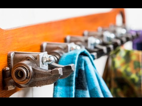 DIY Rocker Arms Clothes Hanger