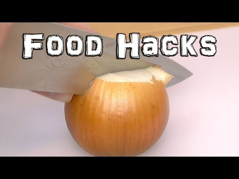 Clever Food Hacks - Peeling and Cutting