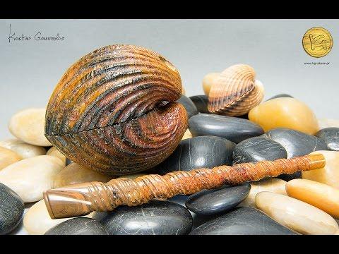 Kostas Gourvelos - Pipe #520 - Two Sea Shells