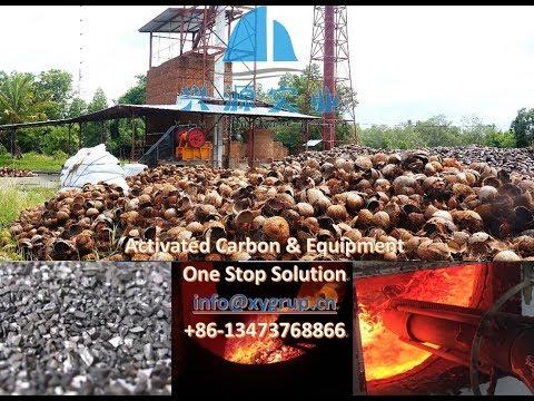 Xingyuan Group coconut shell charcoal making furnace