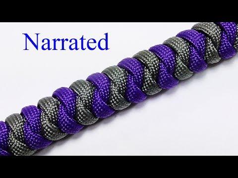 2 Color Snake Knot Bracelet