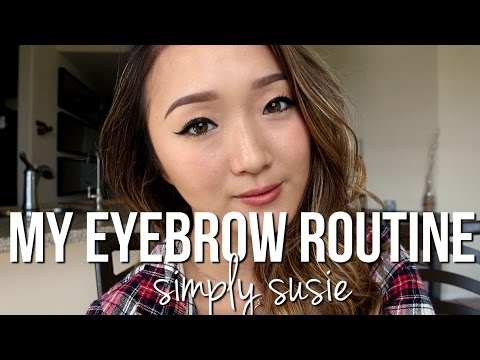 Eyebrow Tutorial   Natural Eyebrow using Anastasia Dipbrow Pomade