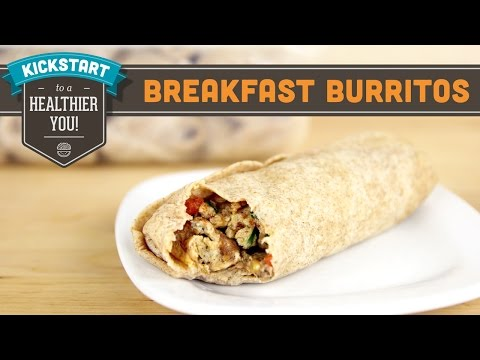 Freezer Breakfast Burritos, Meal Prep - Mind Over Munch Kickstart Series