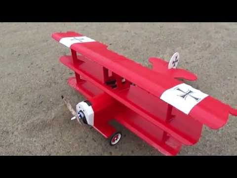 Fokker DR-1 the Red Baron RC Plane. PDF Plans now available foamconceptjets.com
