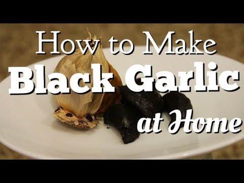 How to Make Black Garlic at Home (DIY)