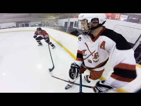 GoPro Hockey | FIGHTING IN ADULT LEAGUE?!