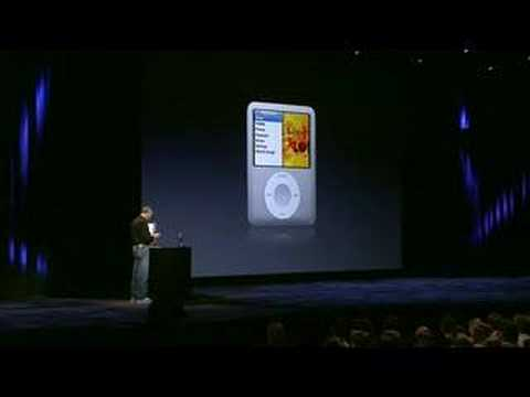 Apple Music Event 2007-The 3G iPod Nano Introduction