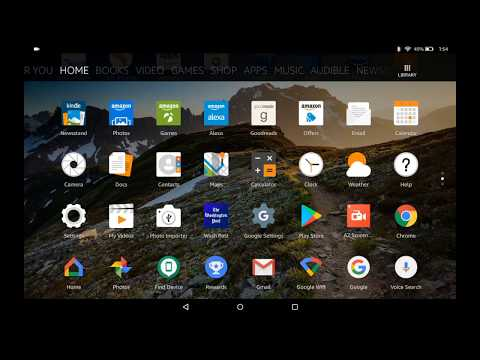 How to Install Google Play on the Fire Tablets