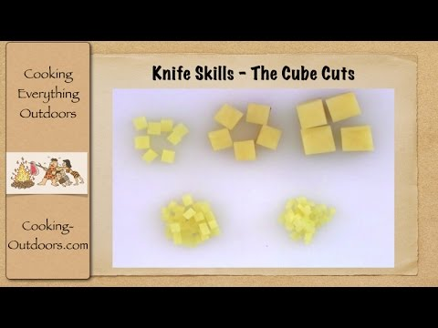 Knife Skills - The Cube Cuts | Easy Cooking Tips