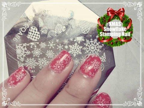 Winter Snowflake Stamping Nail- BornPrettyStore