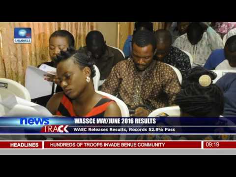 WAEC Releases May/June Results, Records 14.3% Improvement