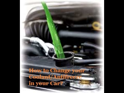 How to change your Coolant in your Car l DIY flush your Coolant l Antifreeze on Honda Car