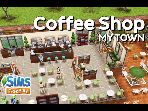 The Sims FreePlay - Coffee Shop (Original design)