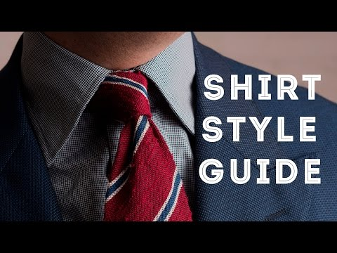 Men's Dress Shirt Styles - How To Choose the Perfect Collar, Placket, Cuff & Fit