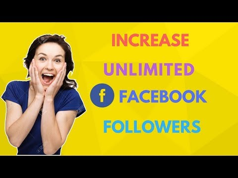 How to Increase Unlimited Real Facebook Followers/Friend Request | 2018 | New Method | PlayAndrotics
