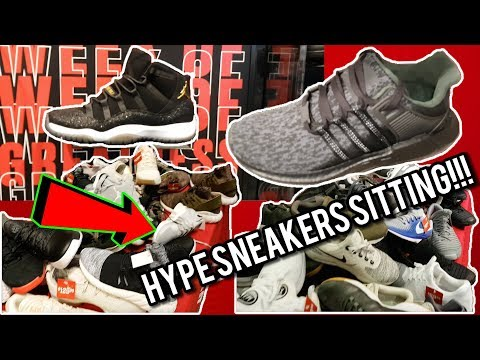 Limited Hype Sneakers Sitting?!?! | Black Friday Shopping!!! | Triple Black Adidas EQT 93/17  Pickup