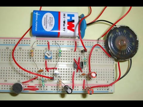 Simple Amplifier with LM 358.