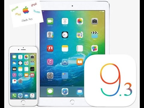 iOS 9.3 features what's new?on iPhone,iPad or iPod Touch