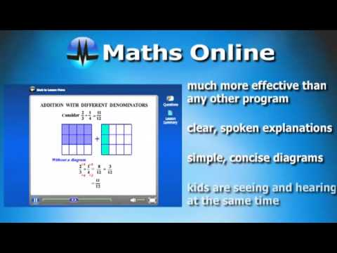 MathsOnline: How it works.