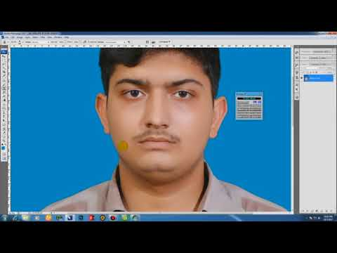 how to make passport size photo in photoshop cs3