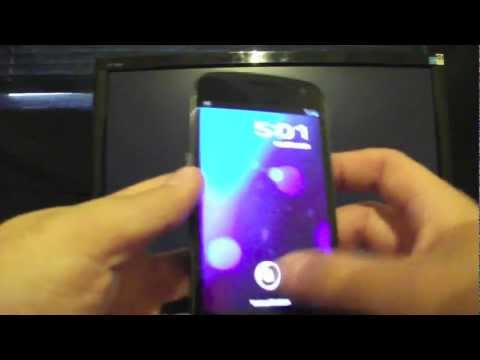 Galaxy Nexus Leaked Rooted 4.0.4 Android Update ICS IMM30B Install Tutorial