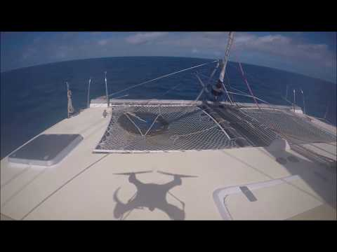 Sailing Australia Cairns to Cape York Drone Compilation