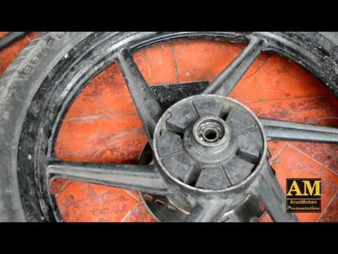 Changing Motorcycle Wheel Bearing | TVS Apache RTR | Rear Wheel | BIKE | DIY