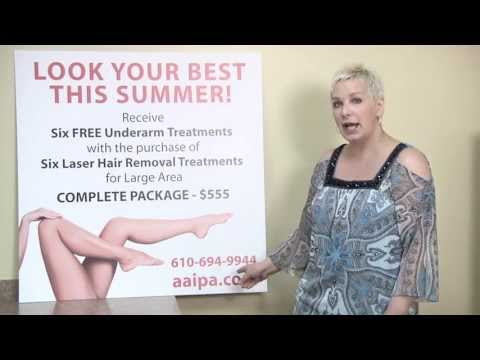 Lehigh Valley Laser Hair Removal Special