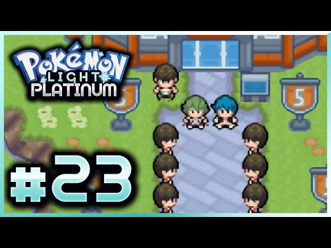 Let's Play Pokemon: Light Platinum - Part 23 - Team Steam Secret Base