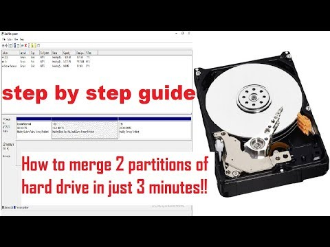 How to Merge Two Partitions of a hard drive into One without Data Loss(without formatting)