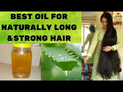 ALOE VERA OIL FOR STRONG HAIR IN TELUGU (WITH SUBTITLES) || NATURAL HOME REMEDIES || MANA ILLU